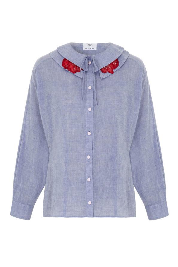 Zoe blue shirt
