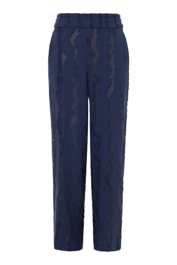 Ruby wave trousers